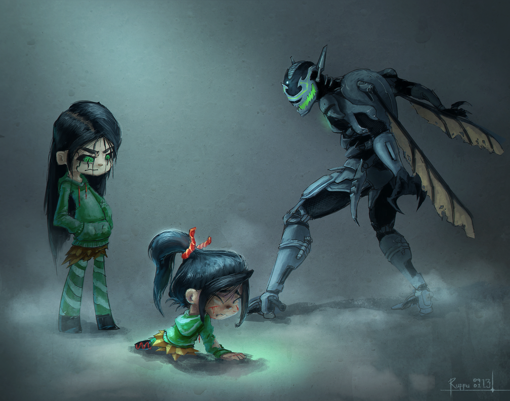 Commission No Hope Vanellope By Ruffu On Deviantart