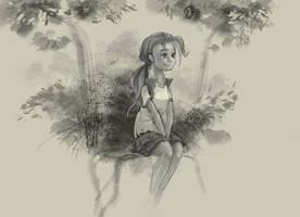 A Quick Little Sketch by Ruffu
