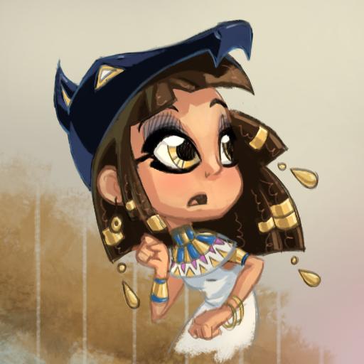 Egyptian Girl by Ruffu