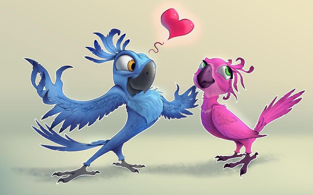 Rio Deviantart: Bird Of Impression By Ruffu On DeviantArt