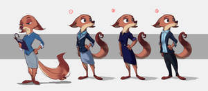 Megan Fawkes - Outfit Lineup