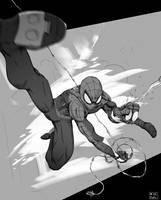 Spider-Man Fanart by Ruffu