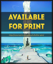 The Spire is Available for Printing
