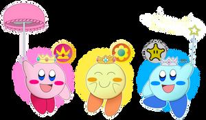 The 3 Princess Kirbys by AVGN-NostalgiaCritic