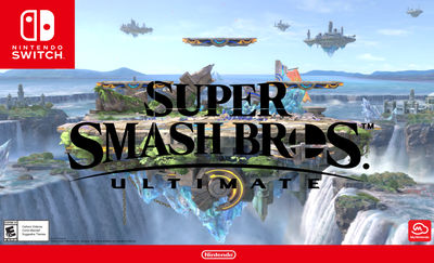 Super Smash Bros. Ultimate OFFICIAL poster by AVGN-NostalgiaCritic