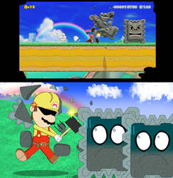 30 YEARS OF TRYING NOT TO GET THWOMPED...