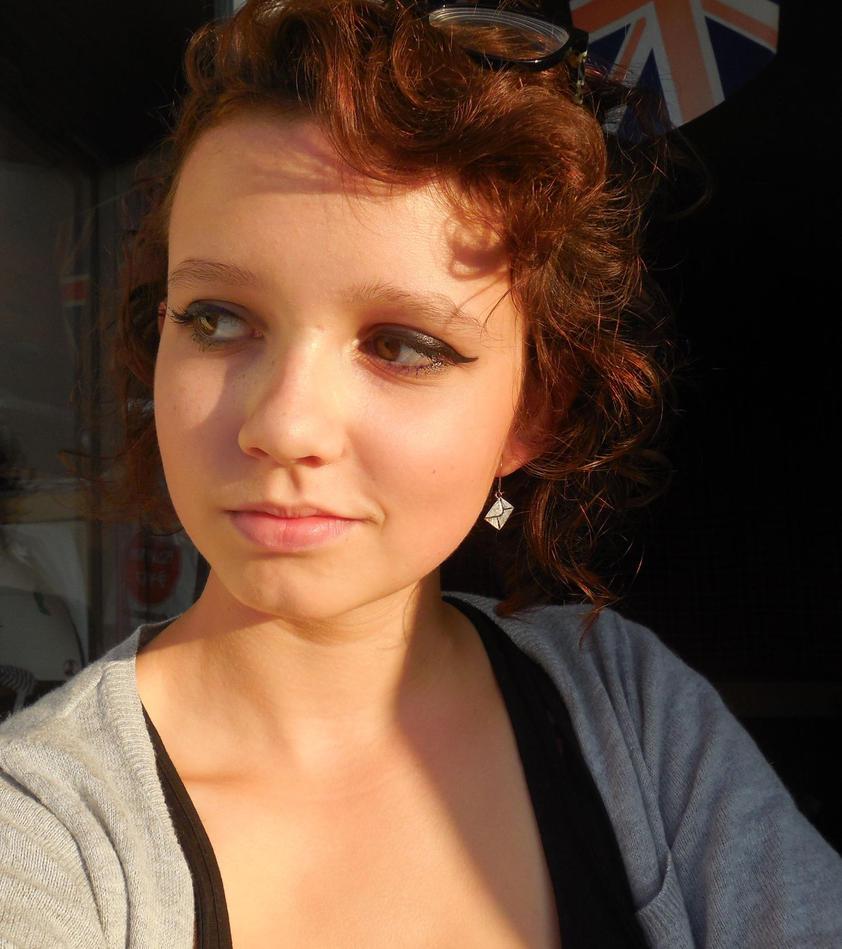 I'm so red-haired by Melindark
