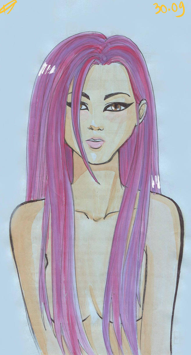 Long Hair by Melindark