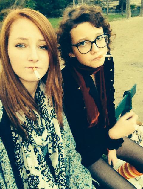 Best Friend Smoking by Melindark