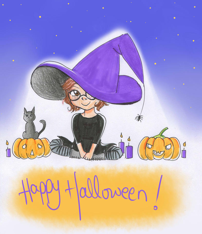 Happy Halloween by Melindark