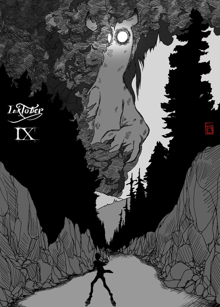 Inktober 2017 IX by Waza-art