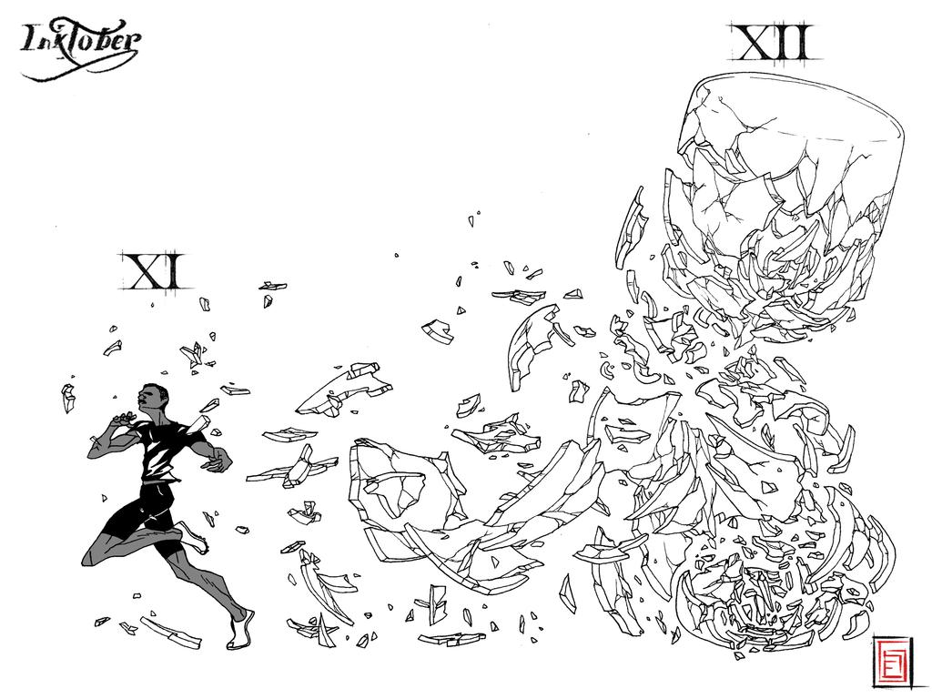 Inktober 2017 XI XII by Waza-art