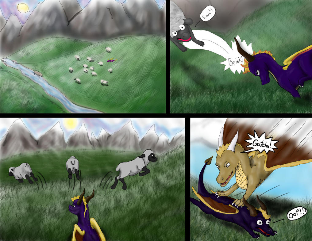 Spyro the last dragon page 1 by Wisprsinthedrk