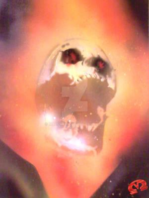 Ghost Rider SPRAY PAINT Art