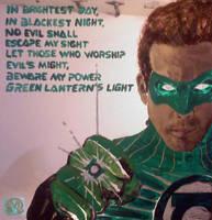 Green Lantern Mirror by MarOmega