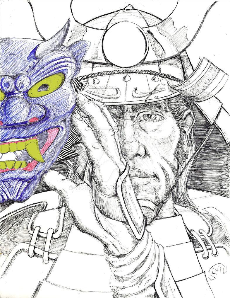 Bushido Self Portrait by MarOmega