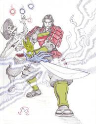 Samanosuke Akechi of Onimusha by MarOmega