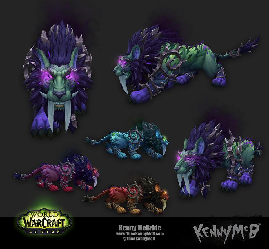 Feral Druid Artifact Form - Nightmare by TheeKennyMcB