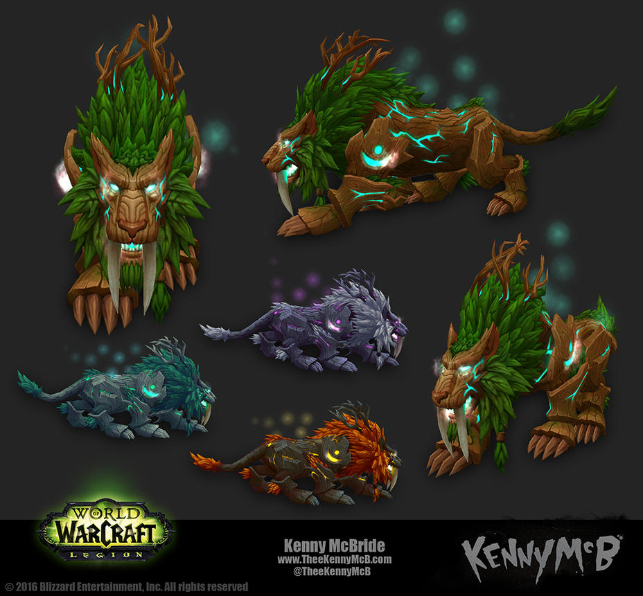 Feral Druid Artifact Form - Tree by TheeKennyMcB