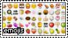 stamp - emojis by manqo-tea