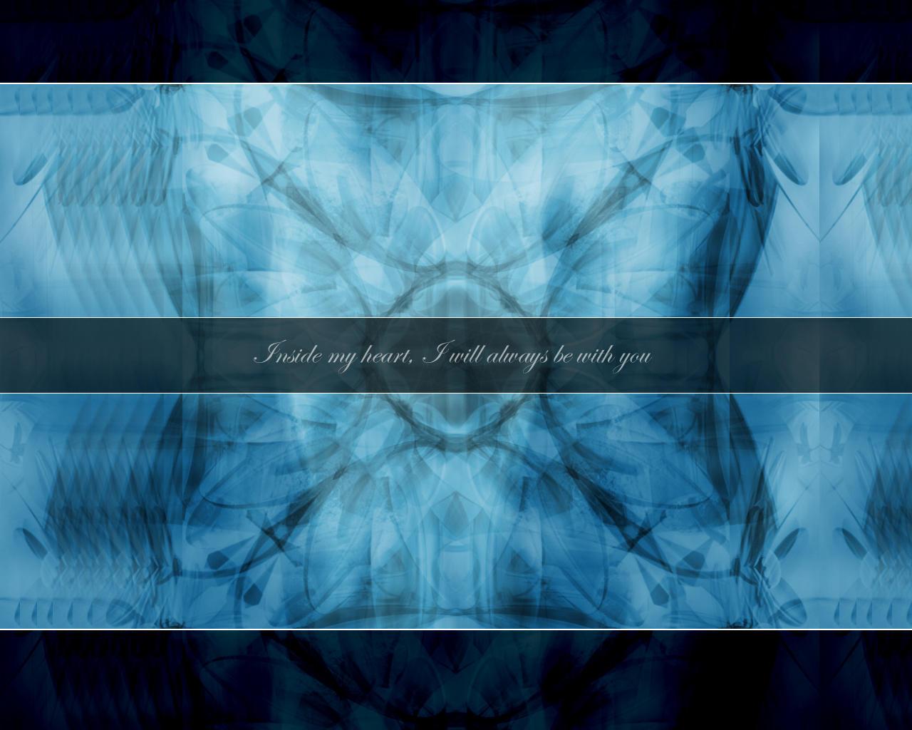 Inside My Heart Blue by aperson