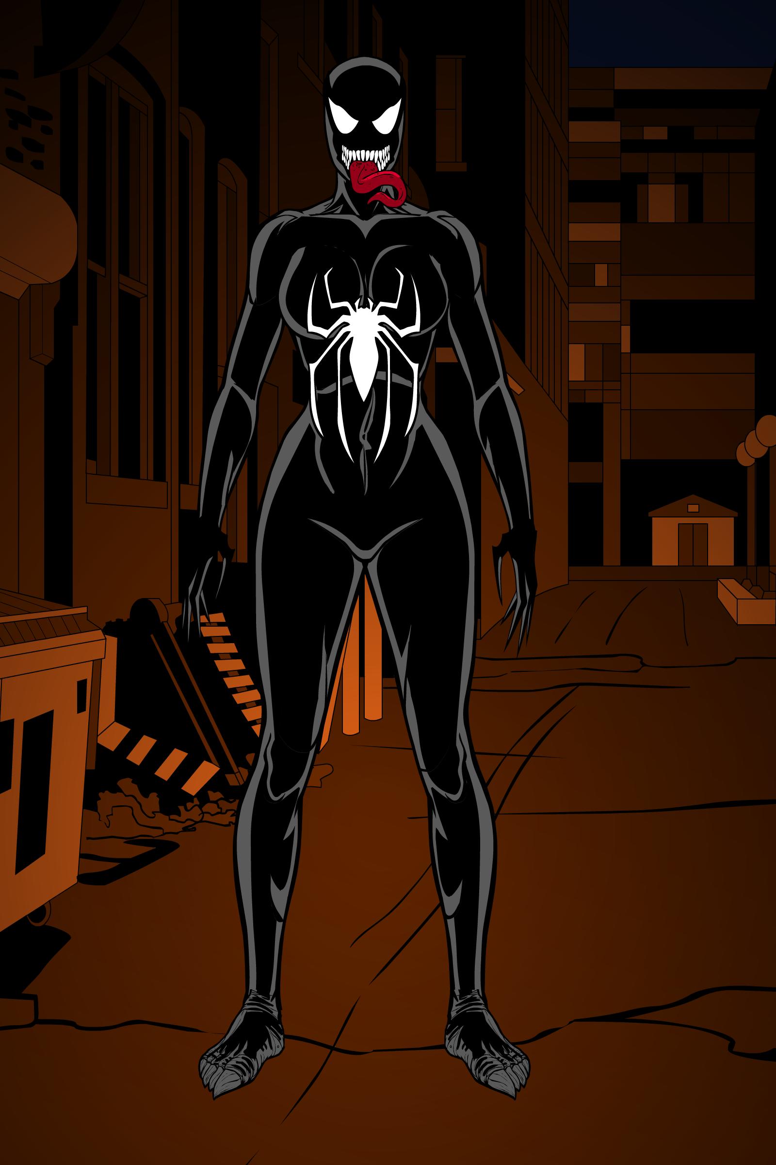 Spider girl - fullcolor by jotazombie on DeviantArt