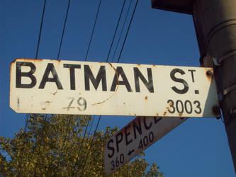 Batman Street by UnitFourteen
