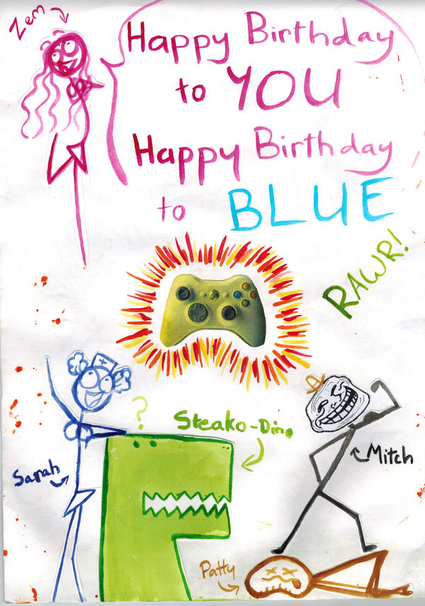 Best Birthday Card Ever Front Page by UltraX7 on DeviantArt – Best Birthday Greetings Ever