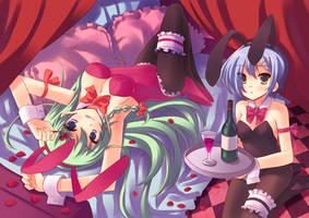 Bunny x Bunny by pcmaniac88