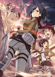 Attack on titan by pcmaniac88