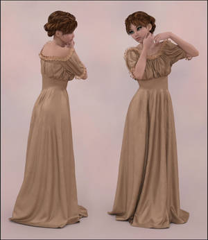 Dforce Wench Dress for G8F 1