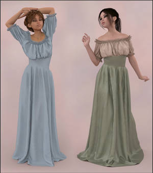 Dforce Wench Dress for G8F 2