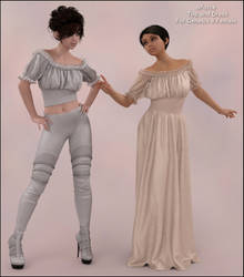 Dforce Wench Dress and Top for G8F
