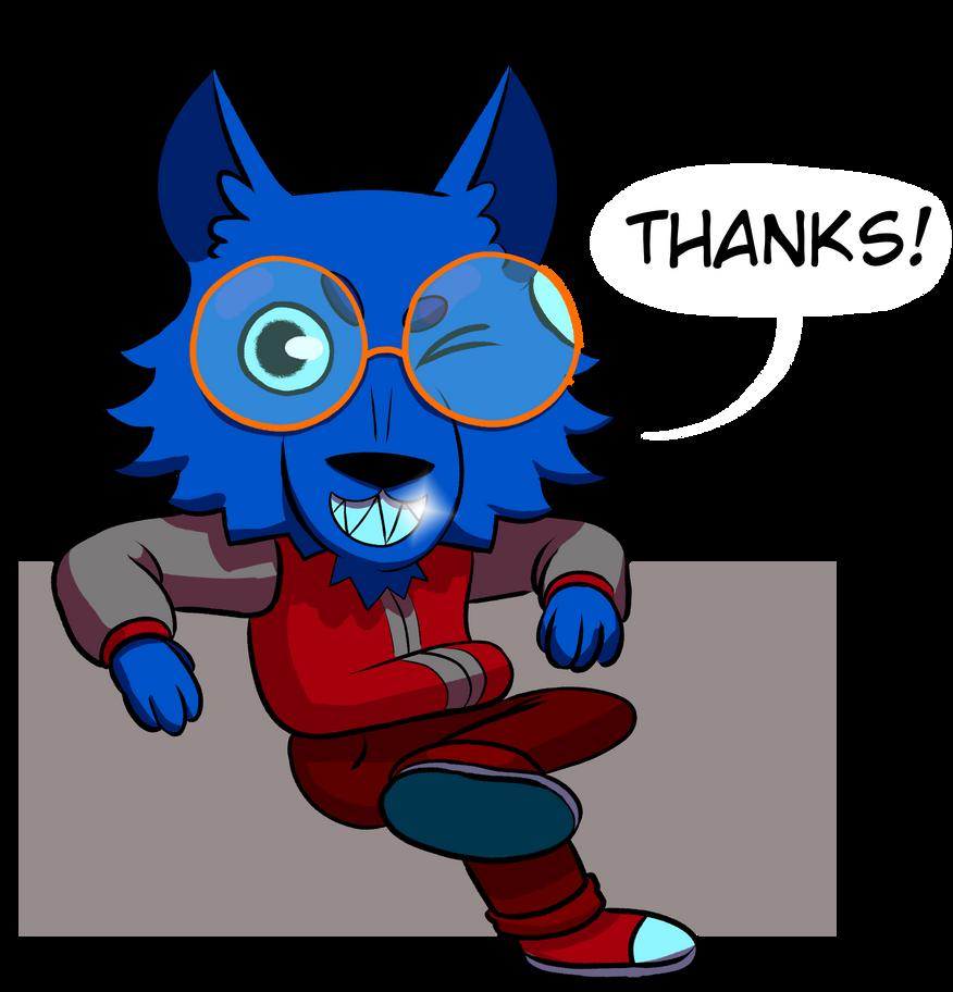 Wolf Thanks