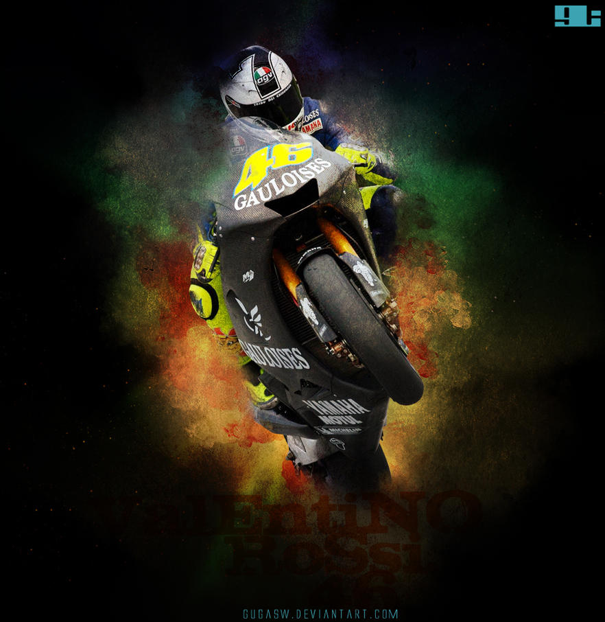 Valentino Rossi 46 by Gugasw