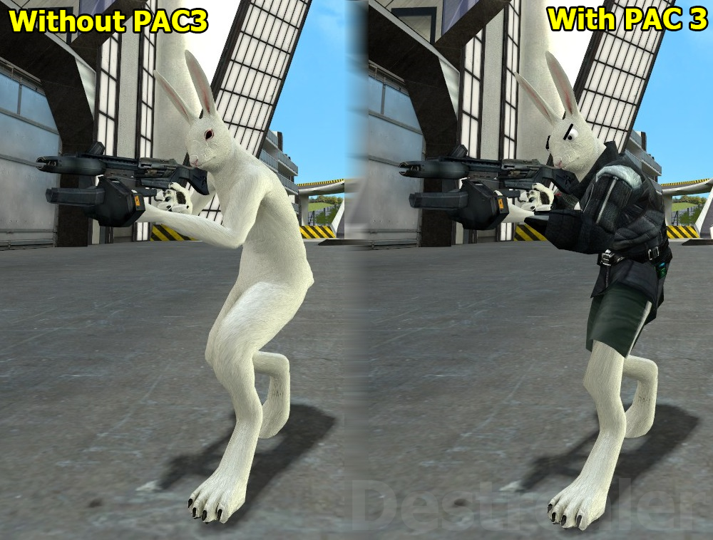Gmod - Rabbit combine [PAC3] by Destrealer on DeviantArt