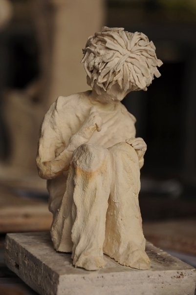 Paperclay sculpture by ishizzles on deviantart