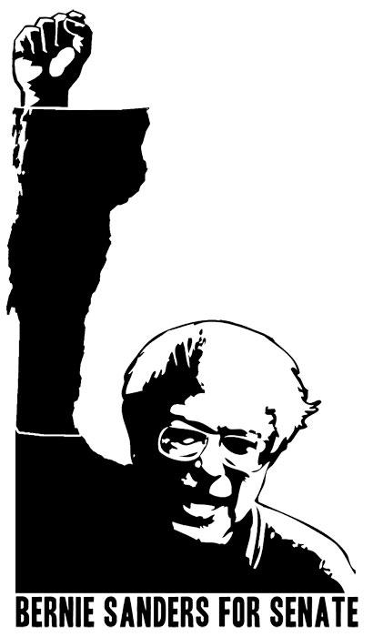 Bernie Sanders for Senate by mibi