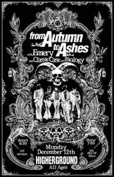 Gig Poster - Autumn To Ashes