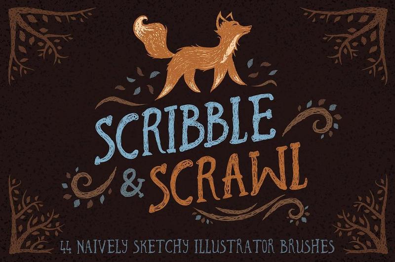 Illustrator Brush Mega-Bundle by Roundicons
