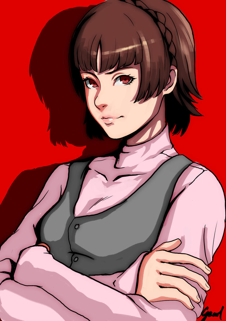 Makoto Persona 5 by Caiman-Pool