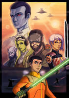 Star Wars Rebels May 4 by Caiman-Pool