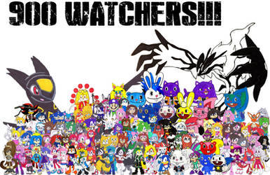 THANK YOU GUYS FOR THE 900 WATCHERS!!! by Silverxtreme56