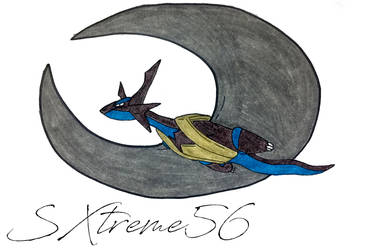 Typhon the Salamence by Silverxtreme56