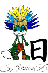Leon The Aztec Fox by Silverxtreme56