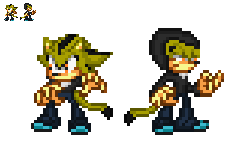Requested by Supersonicspriter by BlakeAndAngelOnDA