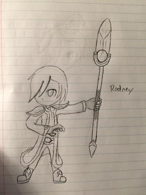 Rodney by BlakeAndAngelOnDA