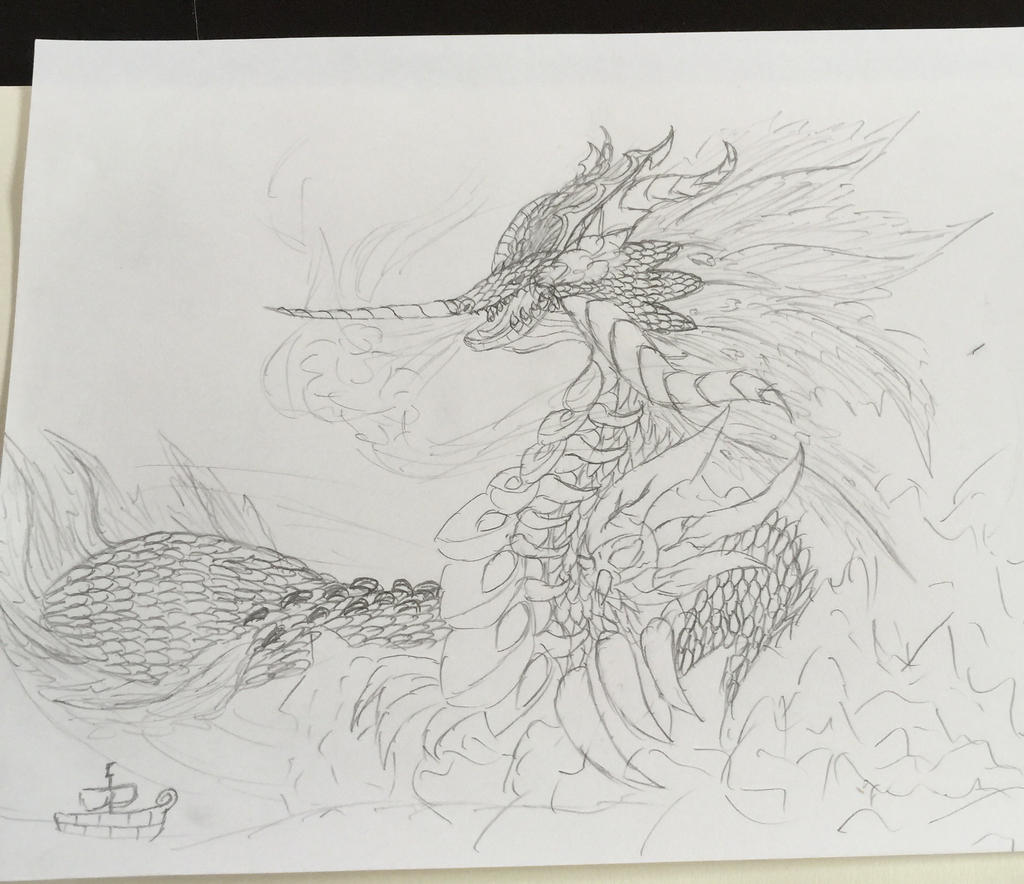 God Of The Sea by BlakeAndAngelOnDA