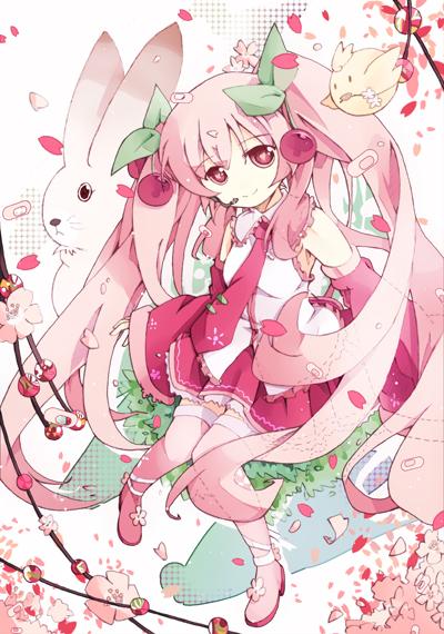 Sakura Miku by bondson
