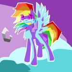 Say 'hi' to Rainbow Dash!